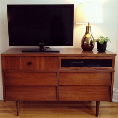 Dresser Stand by Mid Century Modern Dresser Gt Gt Tv Stand Diy