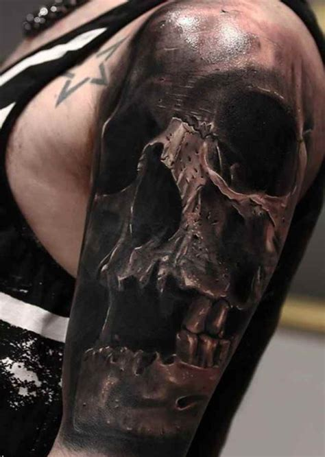 black and grey skull tattoo designs awesome skull tattoo tattoo designs ideas for man and woman