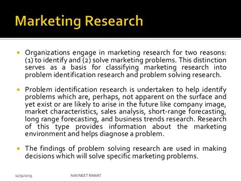 Market Research Mba Notes by Mba Notes Marketing