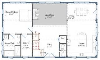 barn house open floor plans studio design gallery