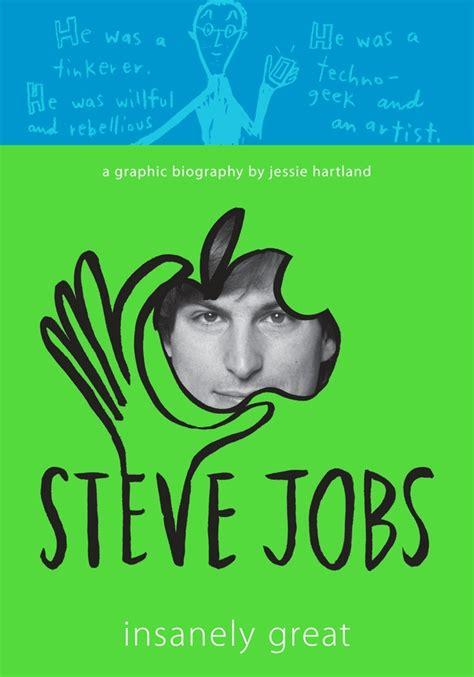 steve jobs biography book cover translating steve jobs life into a graphic novel