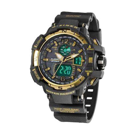 Jam Tangan Pria D Ziner 8211 jual d ziner d026 dual time jam tangan pria harga