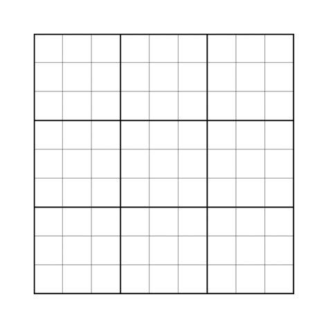 blank sudoku grid sudoku blank worksheets talktoak