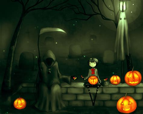 awesome halloween wallpaper