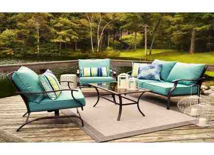patio furniture  lowes furniture shop garden treasures tucker bend brown steel
