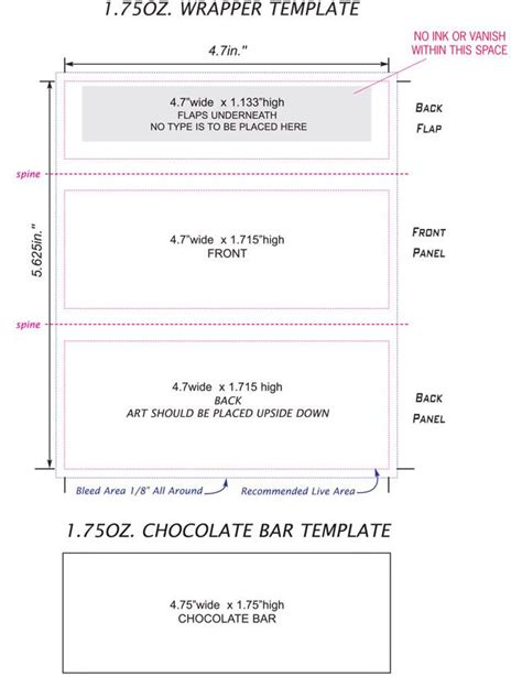 Free Bar Wrapper Template by Bar Wrappers Template Search Baby Shower