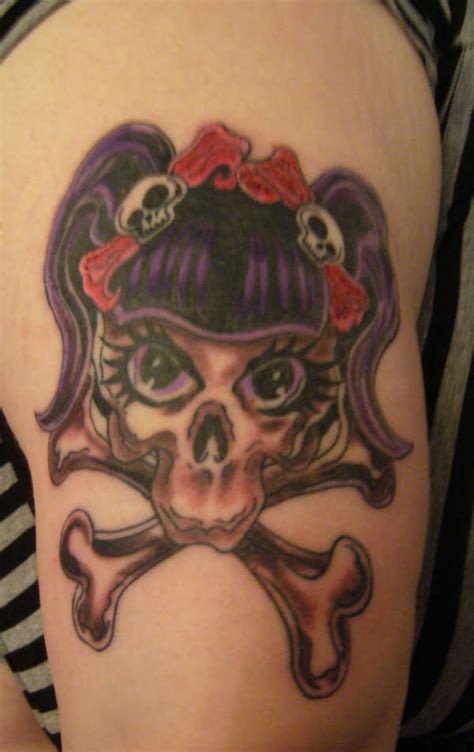 female skull tattoos girly skull tattoos our favourite skull designs