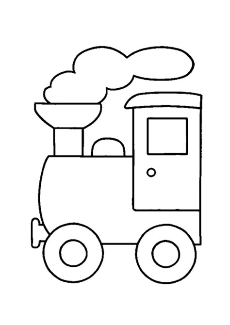 imagenes para colorear un tren dibujos de trenes para colorear pintar e imprimir gratis
