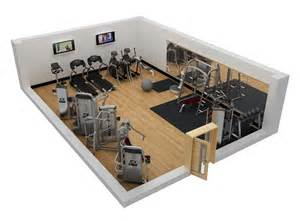 Home Gym Layout Design Samples by Commercial Fitness Facility Design Installation Showcase