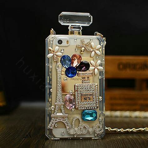 Chanel Parfum Swarovski For Iphone 6 buy wholesale classic swarovski chanel perfume bottle parfum n5 rhinestone covers for iphone 6