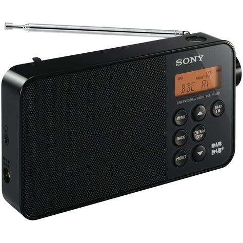 Sony Radio sony xdrs40dbp digital radio at the guys