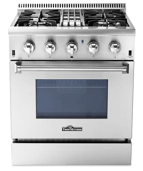 Thor Rage dual fuel professional ranges by thor kitchen stoves