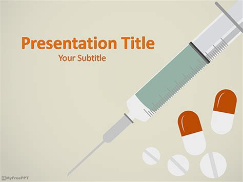 medicine powerpoint template medical template