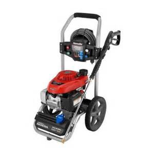 home depot pressure washer homelite 2700 psi 2 3 gpm honda gas pressure washer