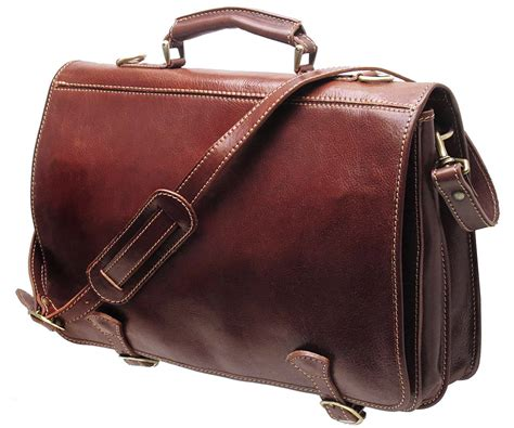 Y 3 Leather Messenger Bag by Cenzo Leather Messenger Bag