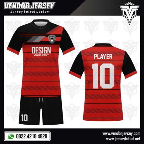 Towing Kain Logo Trd Warna Merah desain kaos futsal hansomegrow vendor jersey futsal