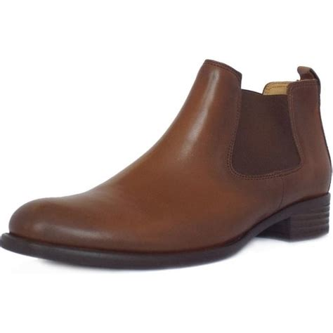 gabor boots zodiac brown leather ankle