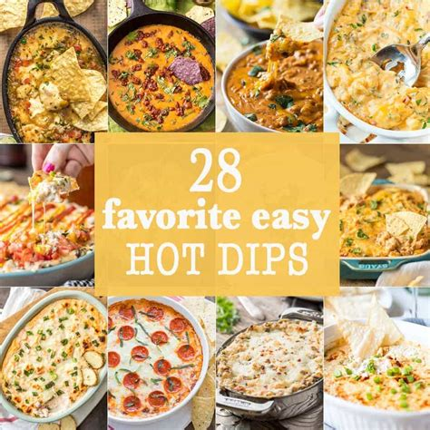 10 favorite easy hot dips the cookie rookie