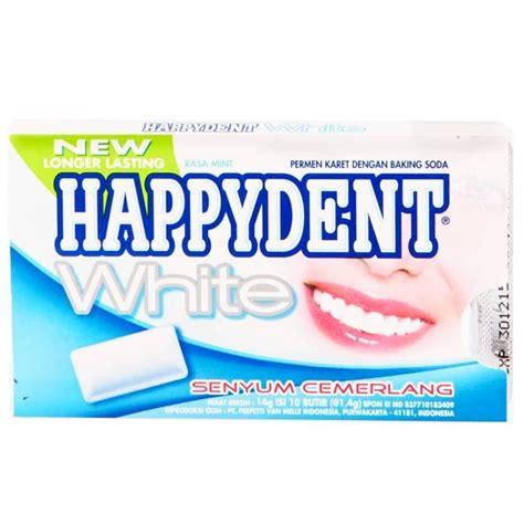 Fresh Sugar Wrap Up by Happydent Wrap Sugar Fresh White Smile 15bpack Box