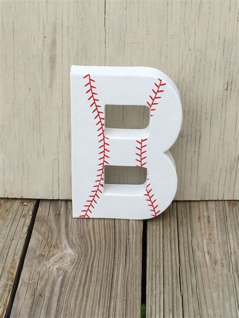 sad up letters 8 baseball stand up decorative letters birthday by