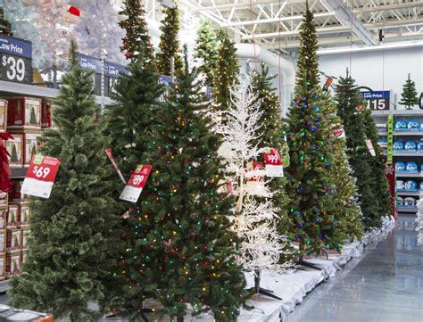 christmas tree at walmart