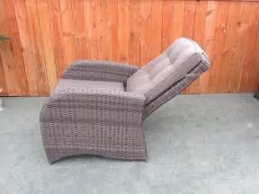 rattan reclining garden chairs garden furniture reclining chairs roselawnlutheran