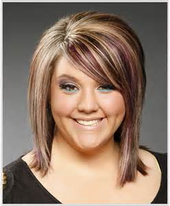 multie colored bob hair styles bob with blended bangs picture slightly angled bob with
