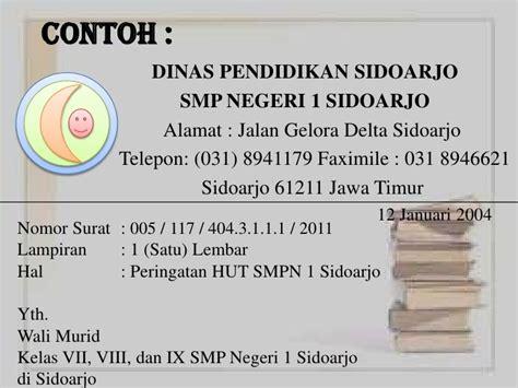 sistematika surat dinas version