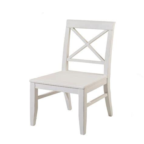 chaise en bois blanc lot de deux chaises en bois blanc 224 dos crois 233 elia