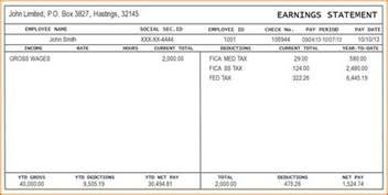 california pay stub template 4 pay stub template excel authorizationletters org