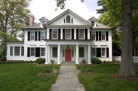 colonial house style characteristics the most popular iconic american home design styles