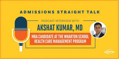 When A Mba Told Me How To Doctor by Meet Dr Akshat Kumar Wharton Mba 19 Episode 242 The