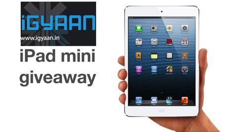 Apple Ipad Giveaway Facebook - apple ipad mini giveaway igyaan igyaan in