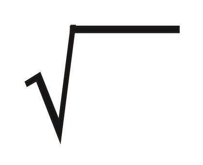 simbolo raiz cuadrada en word matehistorias alef cero