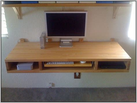 Wallmount Desk by Wall Mounted Desk Desk Home Design Ideas