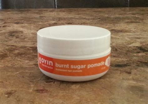 Oyin Handmade Burnt Sugar Pomade Review - oyin handmade burnt sugar pomade pudding reviews