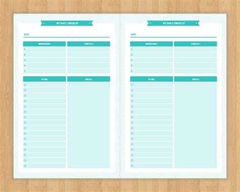 daily checklist 20 daily checklist templates make money with