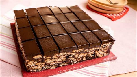 kek batik coklat ganache sedap sampai nak pengsan p