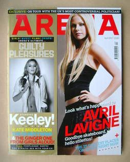 Avril Lavigne Sexifies Arena Magazine by Arena Magazine April 2007 Avril Lavigne Cover