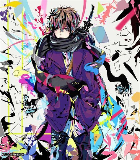 colorful anime colorful anime anime colors and anime