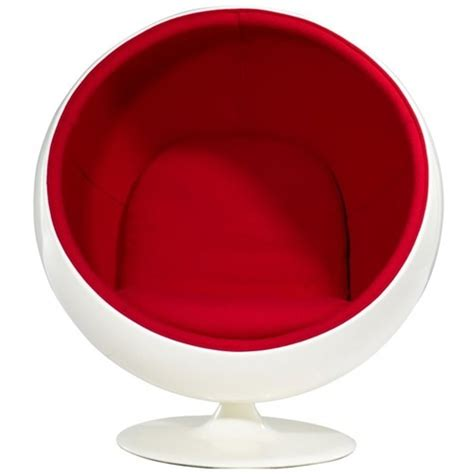 eero aarnio ball chair white red amazon co uk kitchen awesome bubble chairs and ball shaped chairs for your home