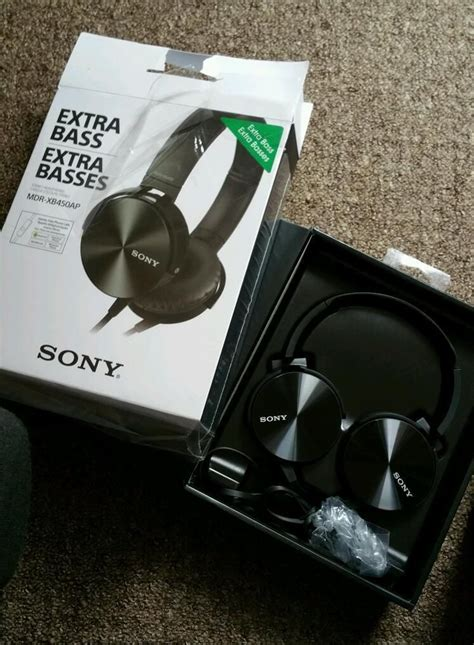 Headphone Sony Mdr Xb450 sony bass stereo headphones mdr xb450 audio stereo