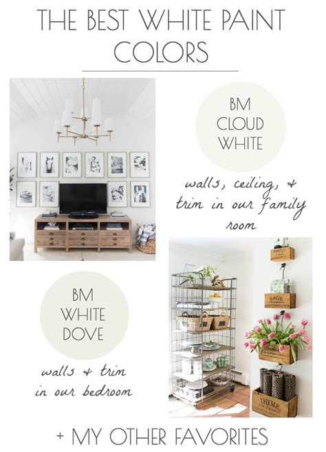 the best white paint colors my tried true favorites