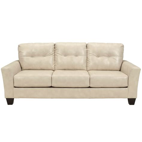 bench craft sofa benchcraft paulie sofa in taupe durablend