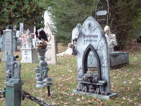 116 Best Halloween Graveyards Coffins And Outside Images Haunted Backyard Ideas