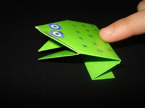 Simple Origami Jumping Frog - simple origami jumping frogs creative origami paper and