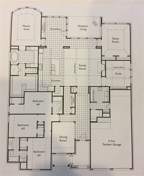 highland floor plan salisbury homes highland homes floor plans texas