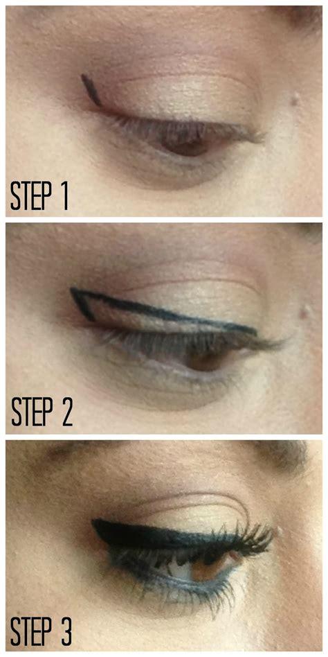 tutorial eyeliner wings winged eyeliner tutorial hairspray and highheels