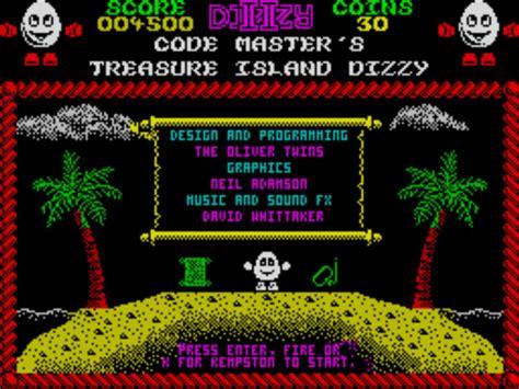emuparadise zx spectrum dizzy ii treasure island dizzy 1988 codemasters rom