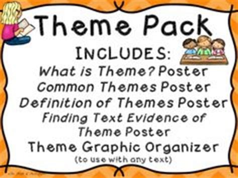 common themes meaning 1000 images about third grade materials under 3 on